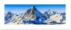 Matterhorn, Swiss Alps panorama