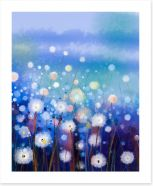 Moonlight meadow Art Print 89017971