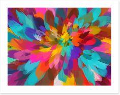Petal burst Art Print 96098163