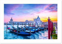Basilica sunset Art Print 99576235