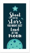 Shoot for the stars Art Print AA00028