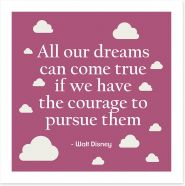 All our dreams