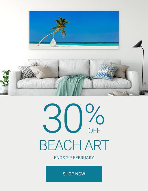 Wall Art Prints Beach Canvas Art Sale