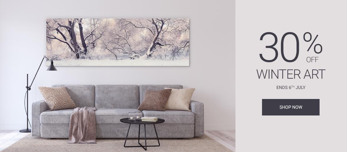 Wall Art Prints Winter Canvas Prints Sale
