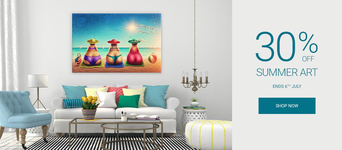 Wall Art Prints Summer Canvas Prints Sale